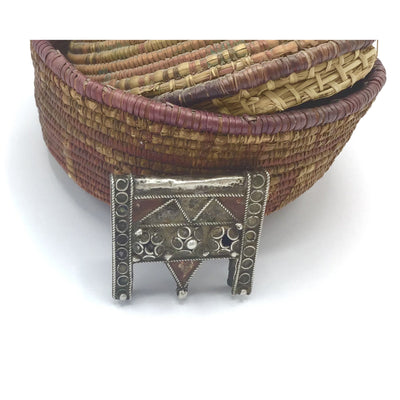 Small Silver Hirz Box Amulet, Morocco - Rita Okrent Collection (P720)