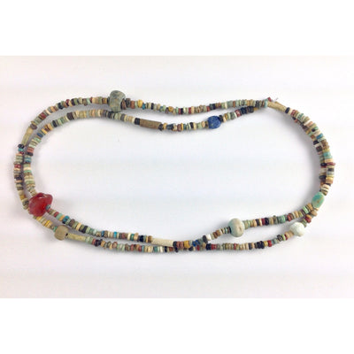Ancient Faience Beads, Strand, Egypt - AN276