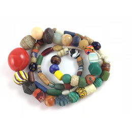 Mixed Vintage Glass Beads from the African Trade - Rita Okrent Collection (ANT0326)