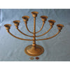 Large Brass Candlelabra, Old, Egypt