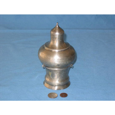 Large Silver Torah Finial