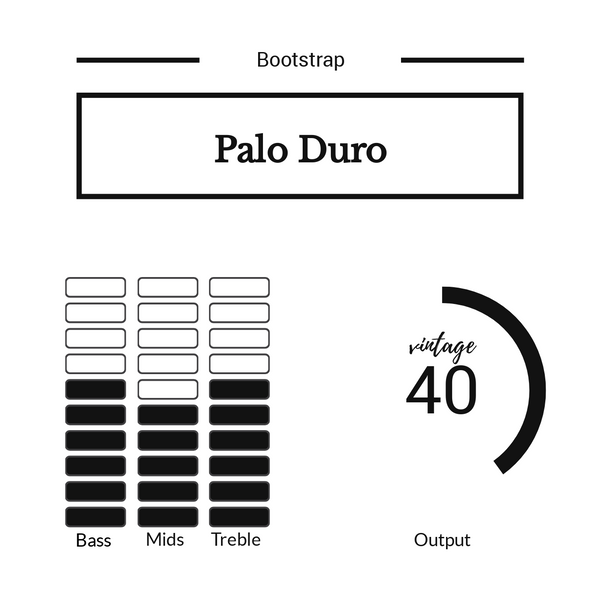 Bootstrap USA Palo Duro for Tele®