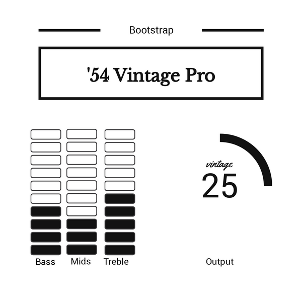 Bootstrap '54 Vintage Pro Set for Strat®