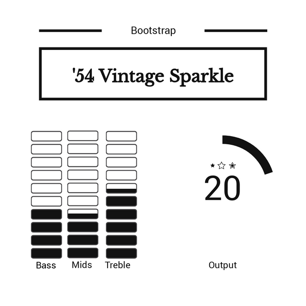 Bootstrap '54 Vintage Sparkle Set for Strat®