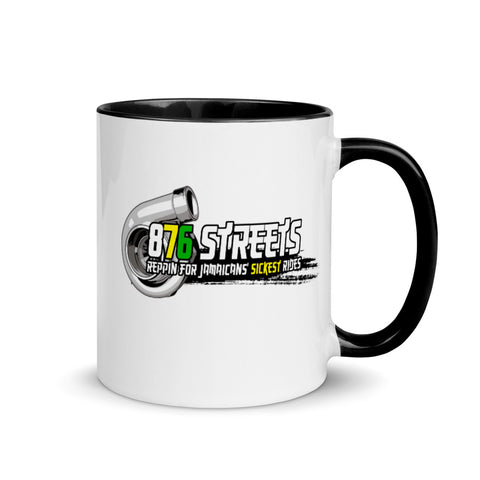 876 Streets Mug with Color Inside