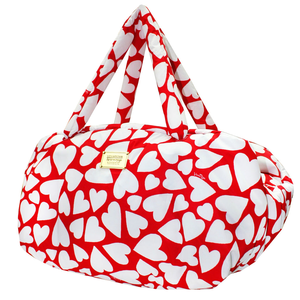 TRAVEL BAG - ENDLESS LOVE - RED