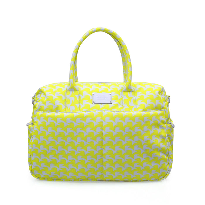 BOSTON BAG - CHECKER IN VOGUE - YELLOW