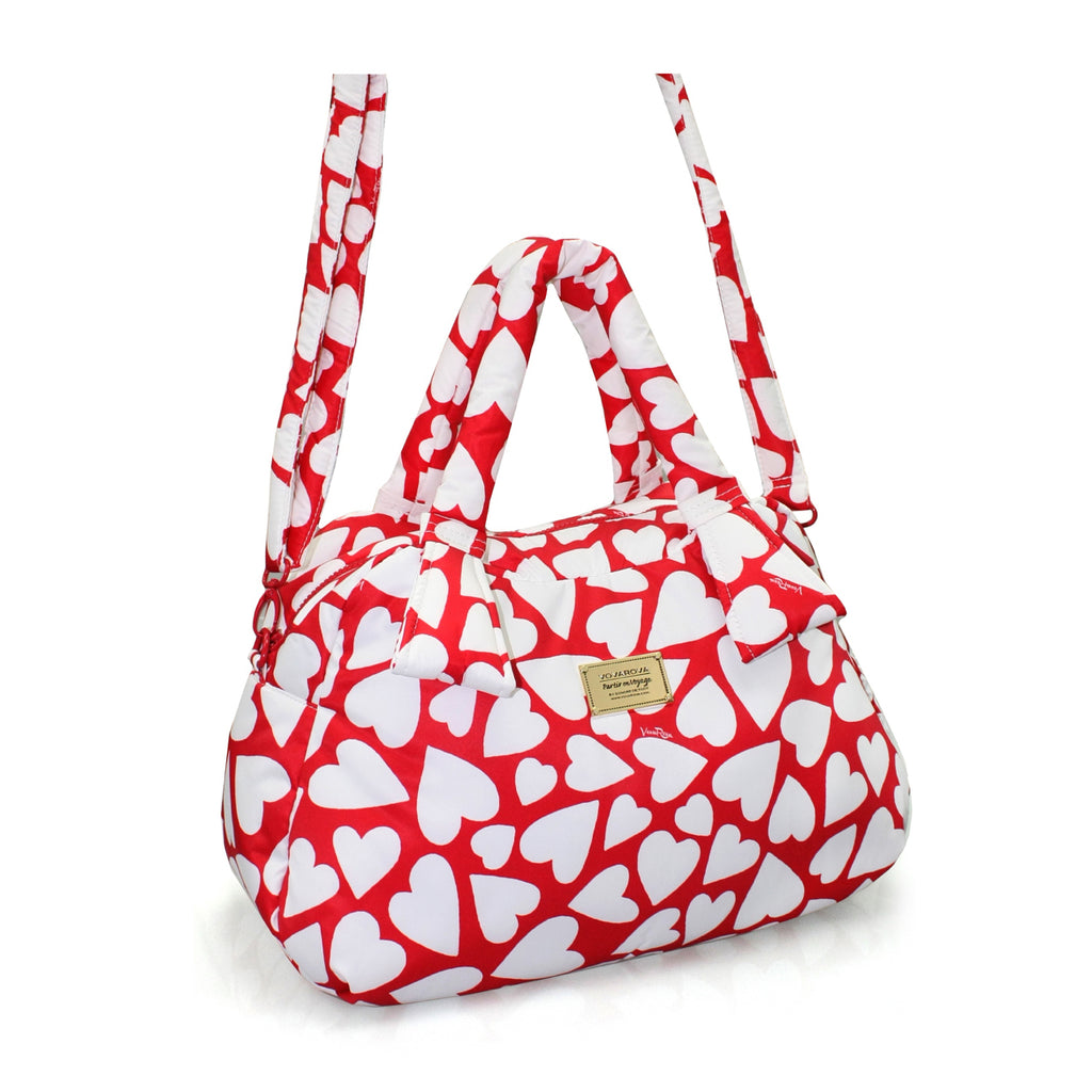 RIBBON DAY BAG - ENDLESS LOVE - RED