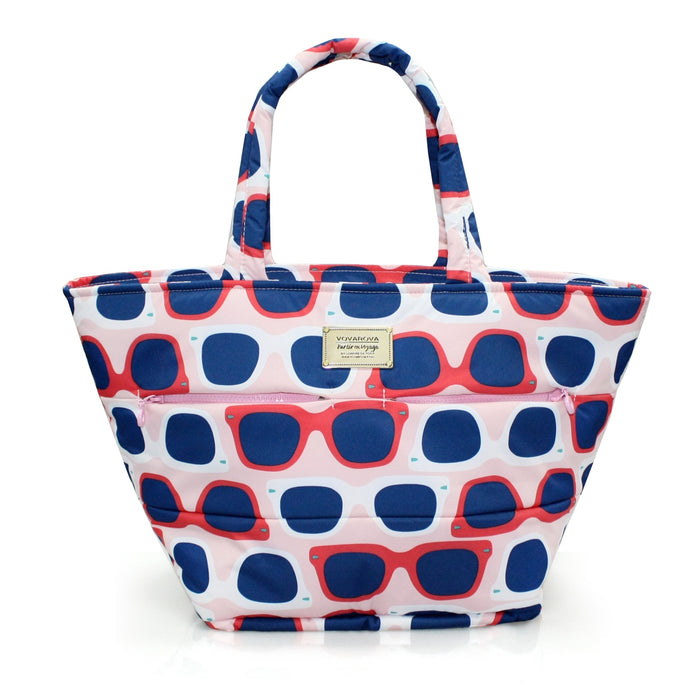 PADDED TOTE - SUNGLASSES A LA MODE