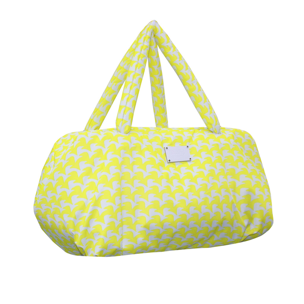 TRAVEL BAG - CHECKERS IN VOGUE - YELLOW