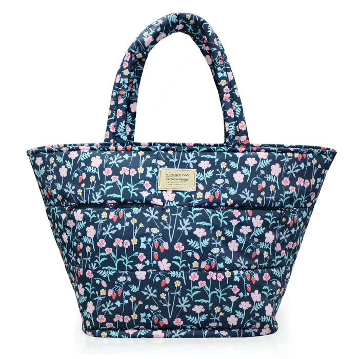 PADDED TOTE - STRAWBERRY KISS