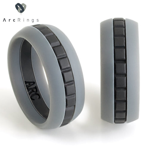 ArcRings Classic Silicone Ring — Sleek Gray - ArcRings