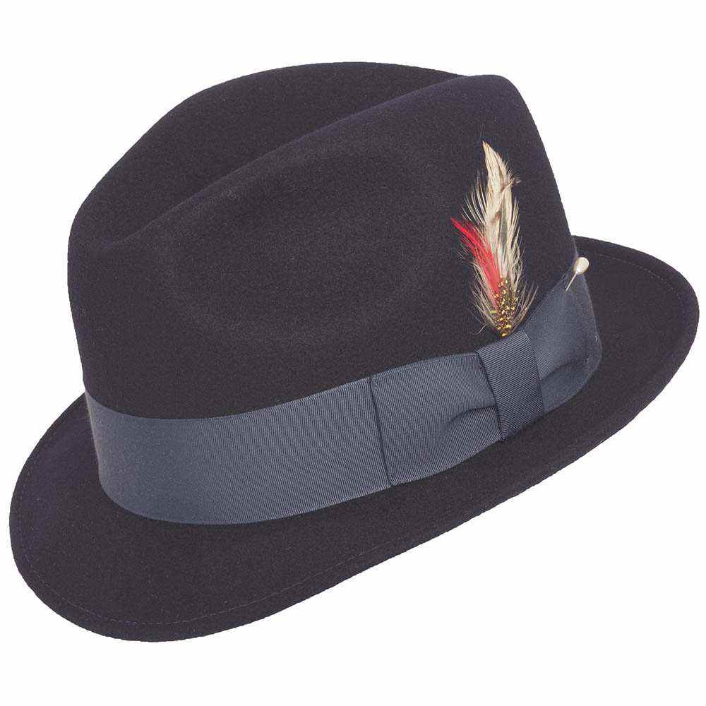 LITE FELT BLUES BROS NAVY