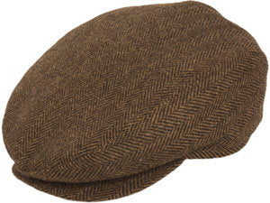 4ff16fe8d0c2b WOOL IVY GREY HERRINGBONE WOOL IVY GREY HERRINGBONE. The Wool Herringbone  Ivy Cap ...