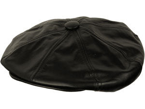 LEATHER BIG APPLE BLACK