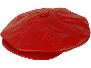 The Leather Big Apple Cap - Mike The Hatter e82e514b107d