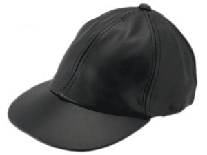 LEATHER BASEBALL BLACK