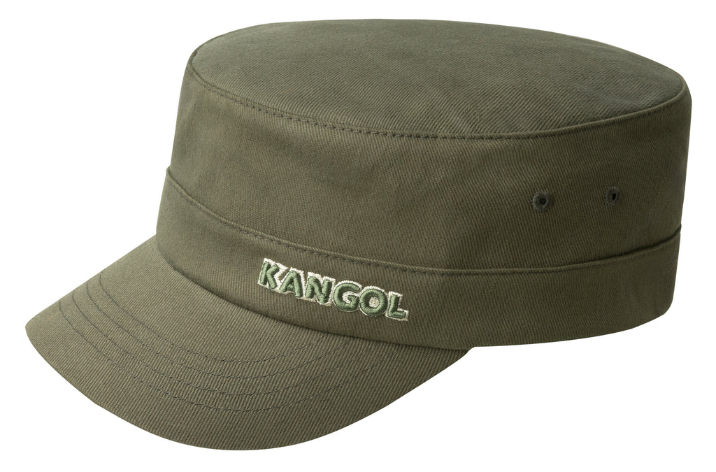 COTTON TWILL ARMY CAP ARMY GREEN