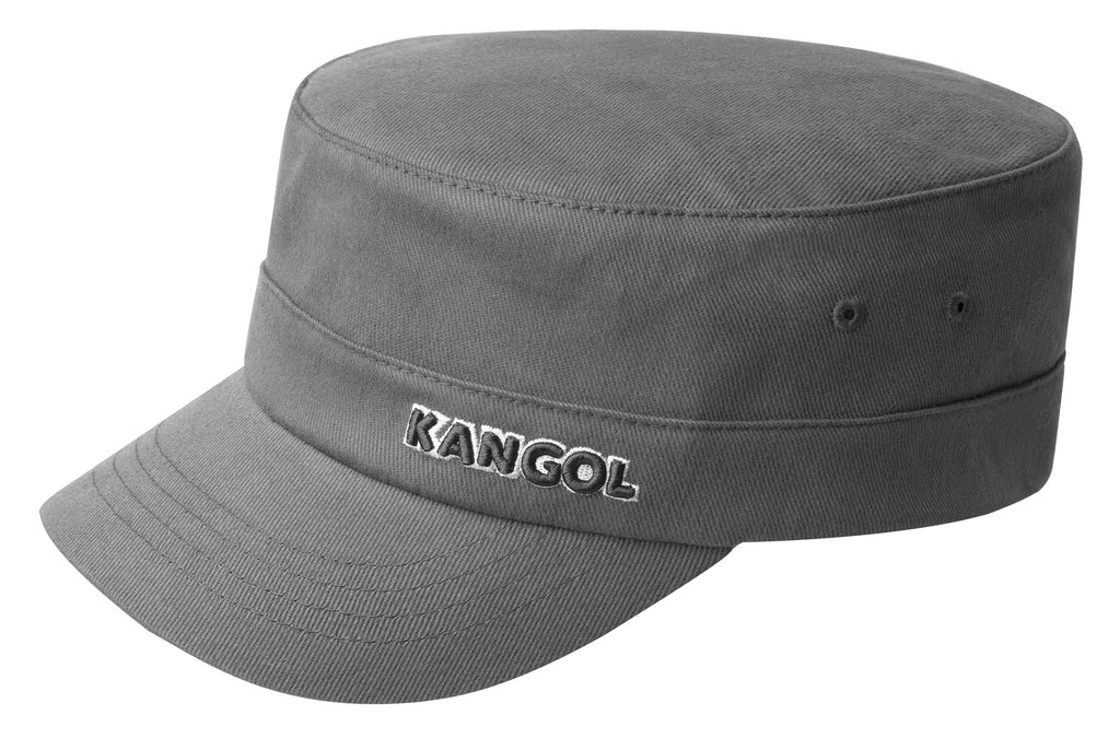 COTTON TWILL ARMY CAP GREY