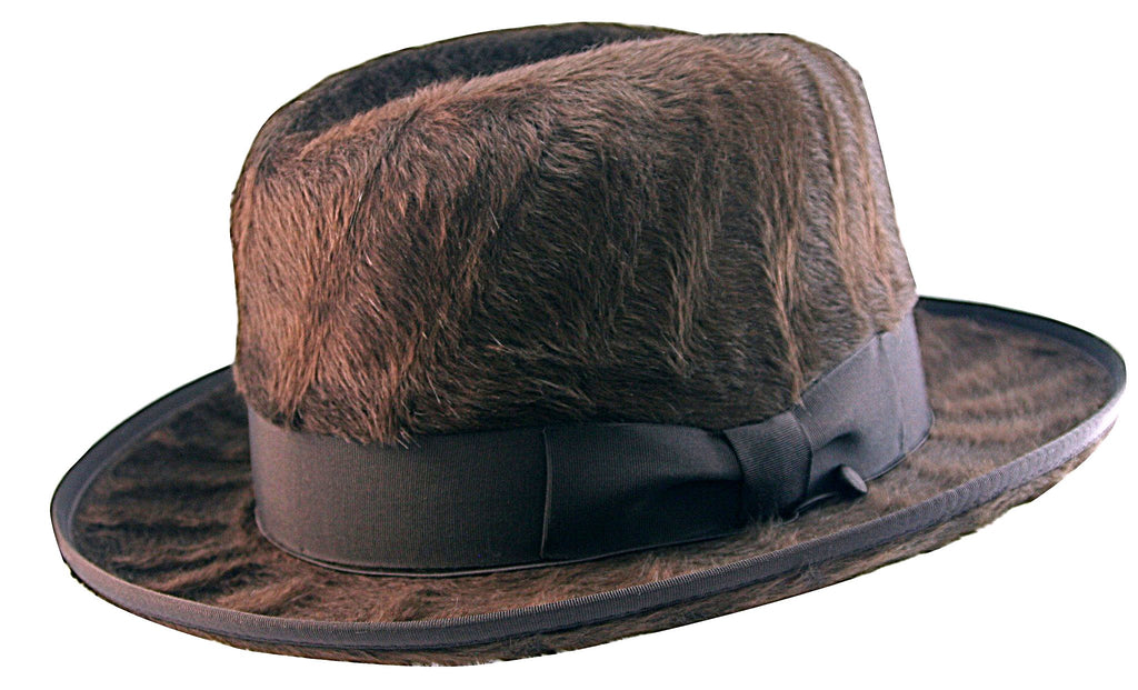 SELENTINO ALPHA BEAVER HOMBURG BROWN