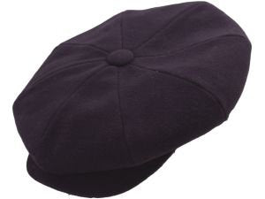 WOOL NEWSBOY PURPLE