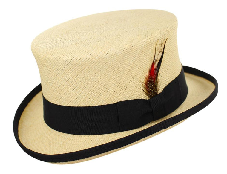CAPAS PANAMA TOP HAT NATURAL