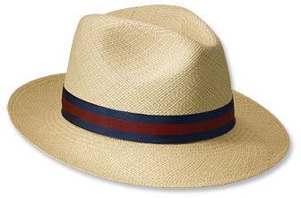 CAPAS FEDORA PANAMA CLUB BAND