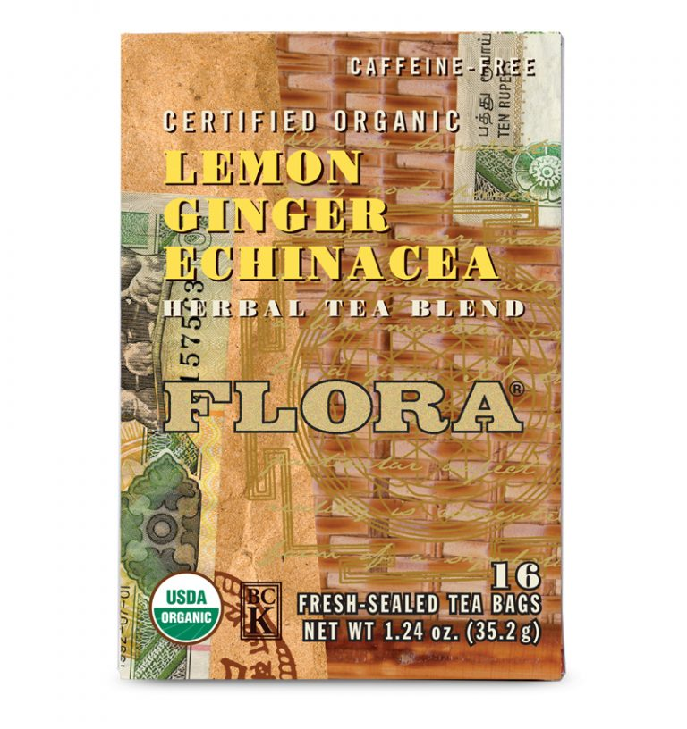Herbal Tea Blend - Lemon Ginger Echinacea