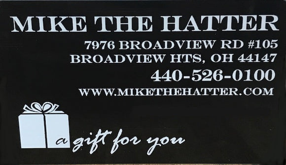 MIKE THE HATTER GIFT CARD