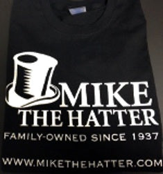 MIKE THE HATTER TSHIRT