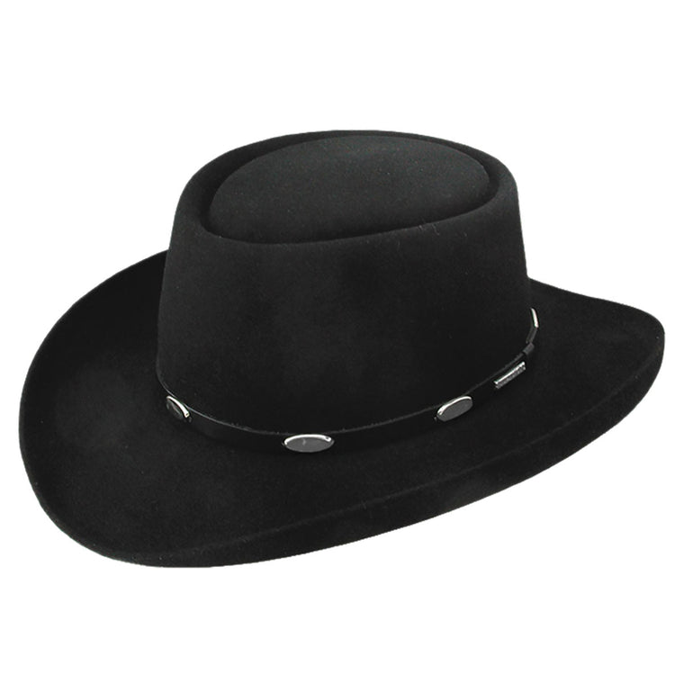 STETSON ROYAL FLUSH BLACK