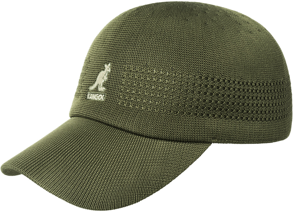 KANGOL TROPIC SPACECAP ARMY GREEN