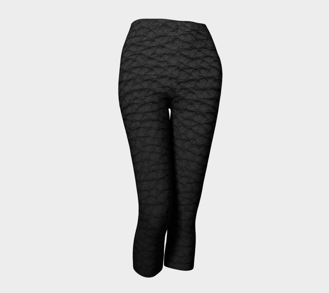 Women's Black Combat Capri