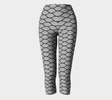 Women's Almost Fishnets Capri