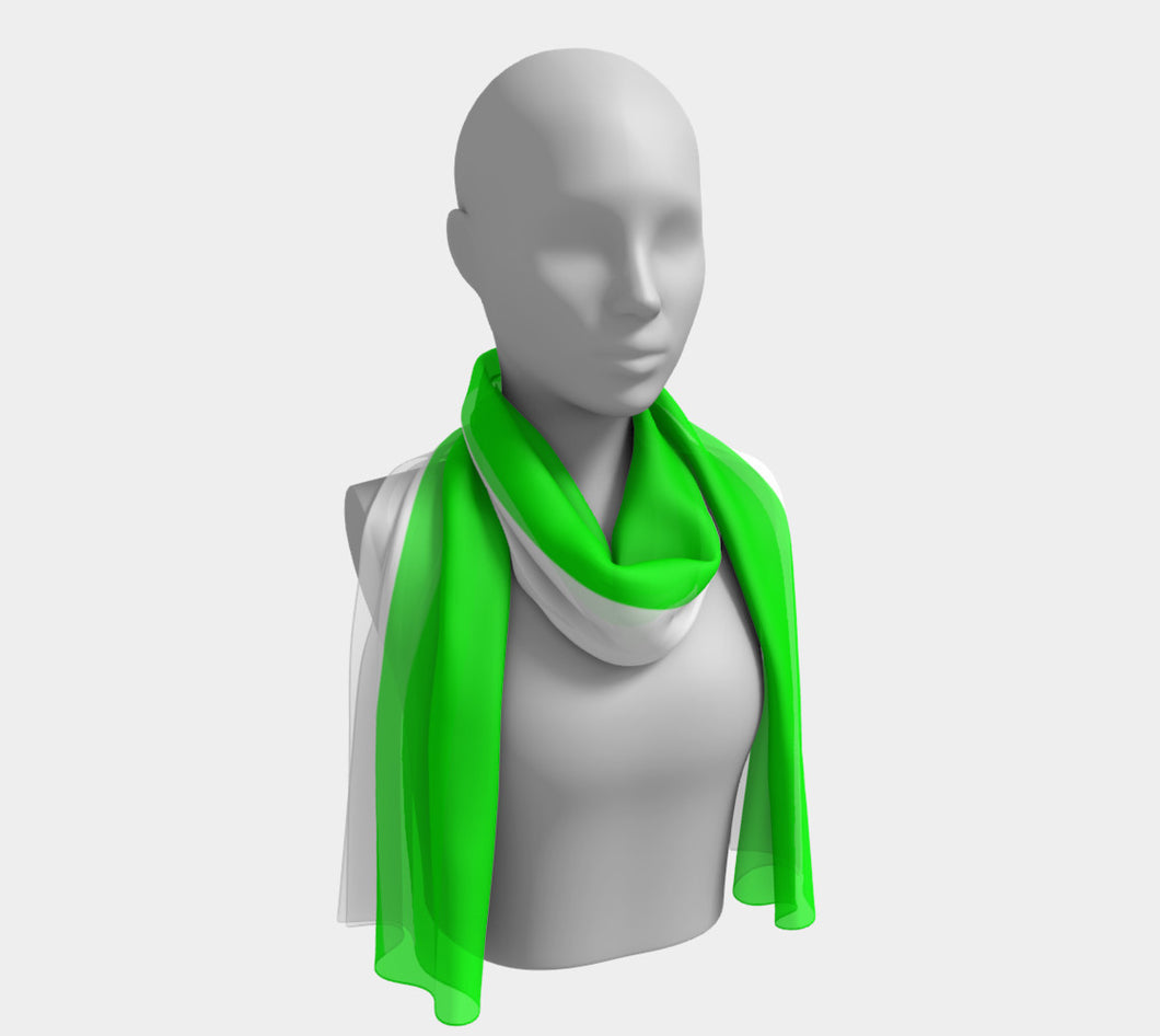 Summer in Cannes Lime Scarf