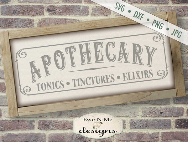 Apothecary - SVG