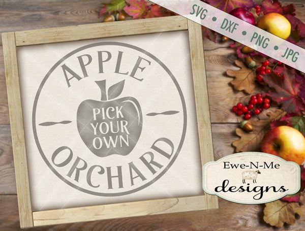 Apple Orchard - Pick Your Own - SVG