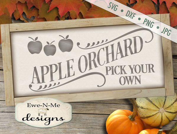 Apple Orchard - SVG