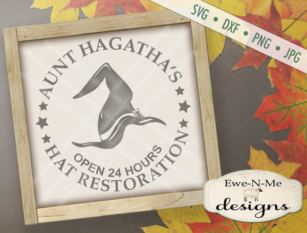 Hagathas Hat Restoration - SVG