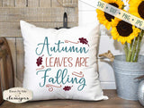 Autumn Leaves Are Falling - SVG