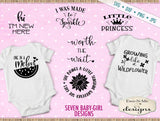 Baby Girl SVG Bundle - Great for Onesies