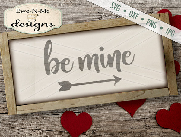 Be Mine - SVG