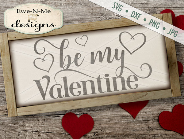 Be My Valentine 2 - SVG