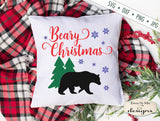 Beary Christmas - Winter - Snowflake - SVG