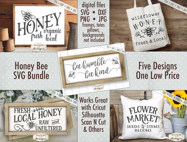 Honey Bee Bundle - SVG
