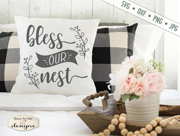 Bless Our Nest - Branches - SVG