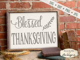 Blessed Thanksgiving - SVG