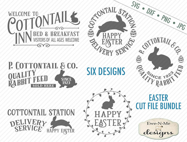 Cottontail Bundle - SVG