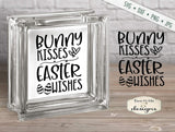 Bunny Kisses - Easter Wishes - SVG