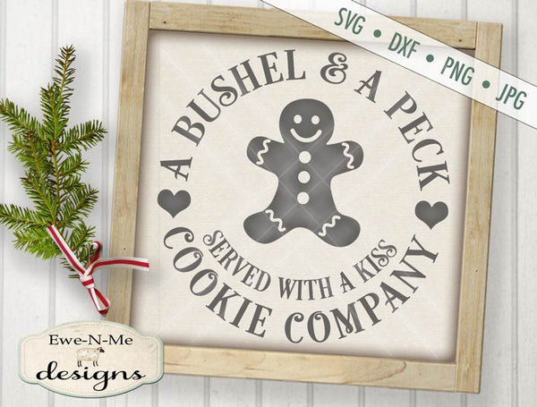Bushel and a Peck Cookie Co - SVG